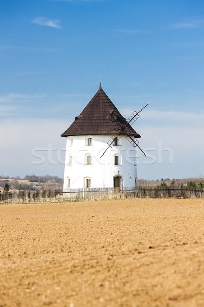 Fırıldak Çek Cumhuriyeti mimari Avrupa açık havada kırsal Stok fotoğraf © phbcz