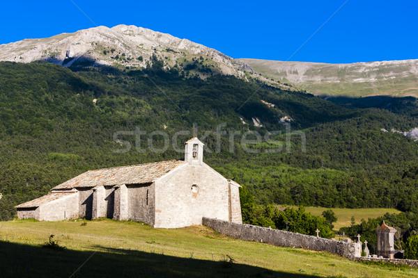 Chapelle France église Voyage architecture histoire Photo stock © phbcz