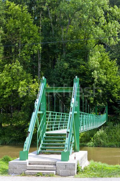 橋 川 チェコ共和国 ストックフォト © phbcz