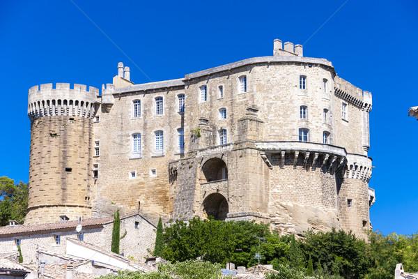 Departamento França viajar castelo arquitetura europa Foto stock © phbcz