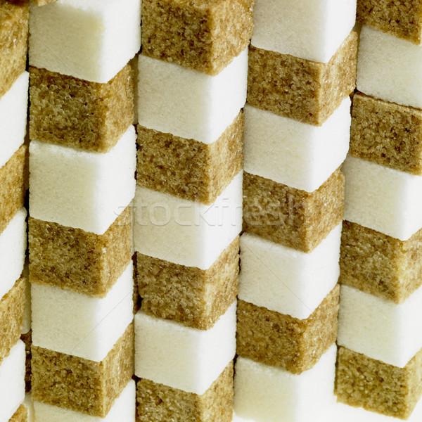 sugar cubes Stock photo © phbcz
