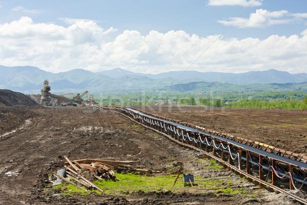 industry in Tuzla region, Bosnia and Hercegovina Stock photo © phbcz