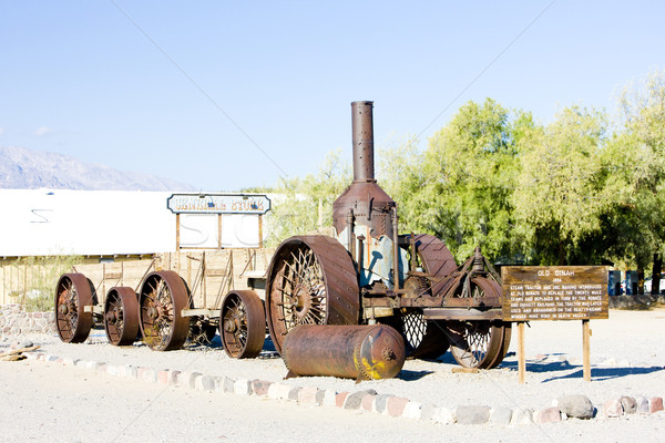 steam machine, Furnace Creek, Death Valley National Park, Califo Stock photo © phbcz