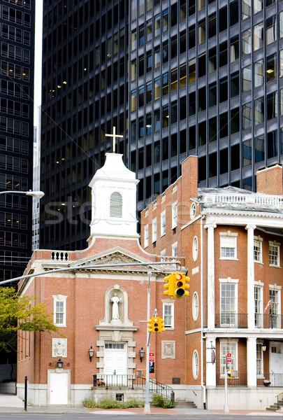 Santuario santo Manhattan New York City USA viaggio Foto d'archivio © phbcz