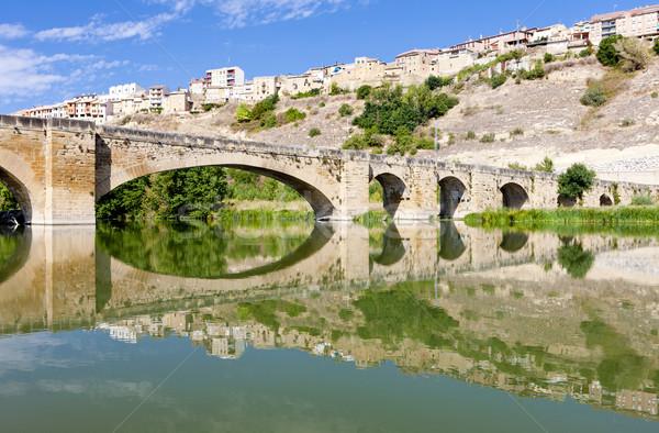 San Vicente de la Sonsierra, La Rioja, Spain Stock photo © phbcz