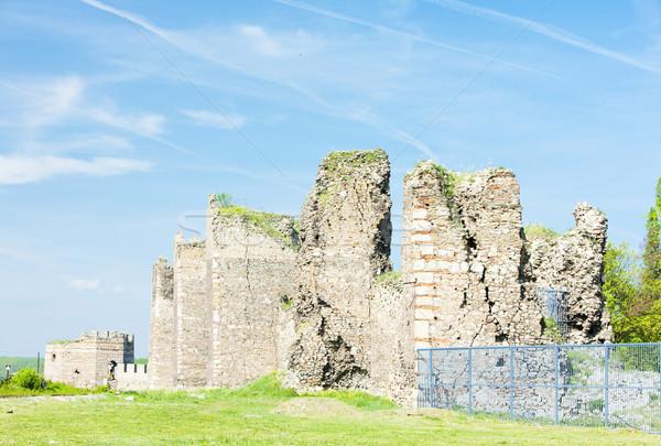 Fortaleza Serbia castillo arquitectura ruinas aire libre Foto stock © phbcz