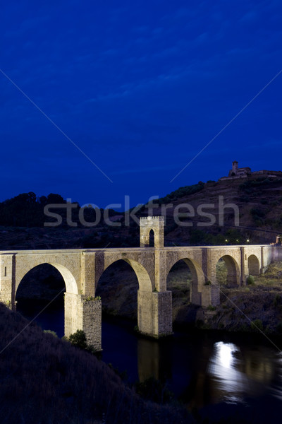 Roman bridge, Alcantara, Caceres Province, Extremadura, Spain Stock photo © phbcz