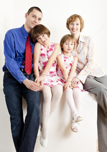Сток-фото: родителей · женщину · девушки · счастливым · ребенка · мужчин