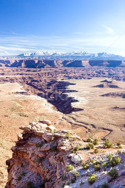 Parku Utah USA krajobraz góry skał Zdjęcia stock © phbcz