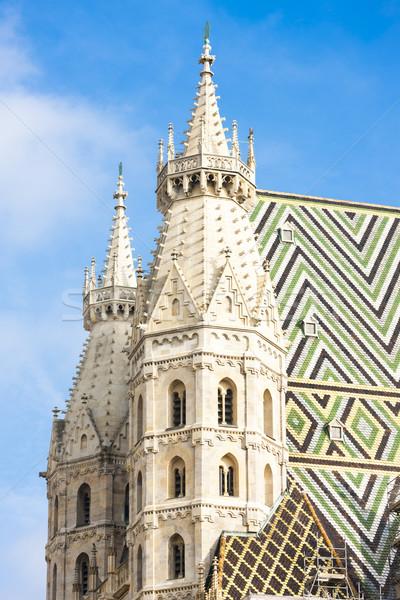 Catedral Viena Austria edificio ciudad viaje Foto stock © phbcz