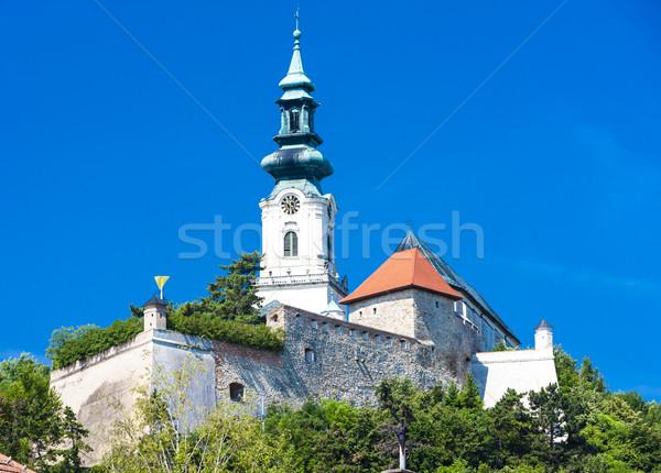 Kale Slovakya Bina seyahat mimari Avrupa Stok fotoğraf © phbcz