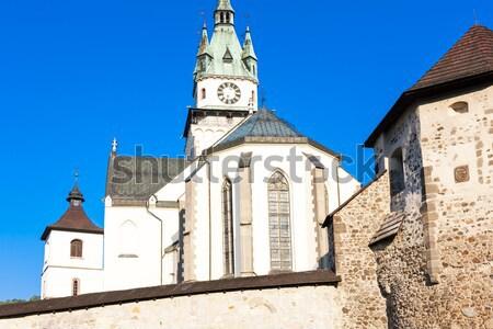 Foto stock: Castelo · República · Checa · viajar · arquitetura · europa · história
