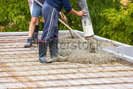 construction of a house Stock photo © phbcz