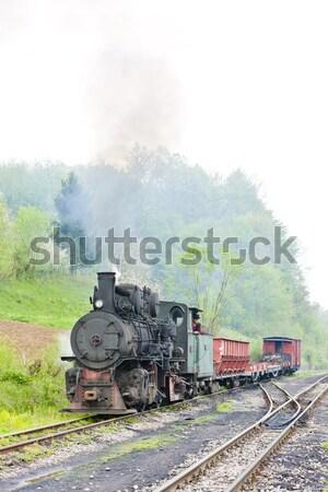 Fumar viajar transporte vapor ao ar livre Foto stock © phbcz