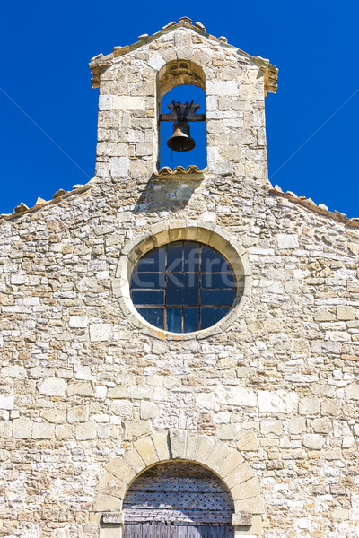 close up of Chapel St. Jean de Crupies, Rhone-Alpes, France Stock photo © phbcz