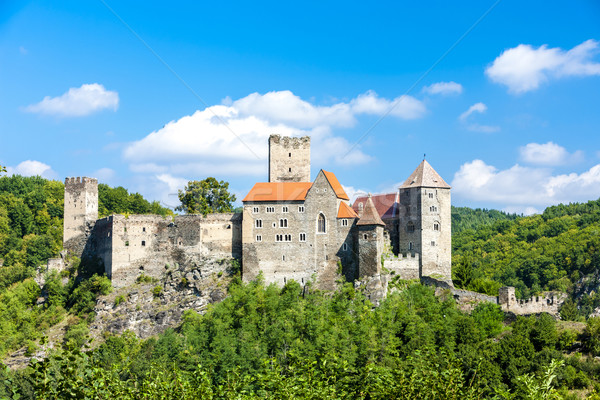 замок снизить Австрия архитектура Европа Сток-фото © phbcz