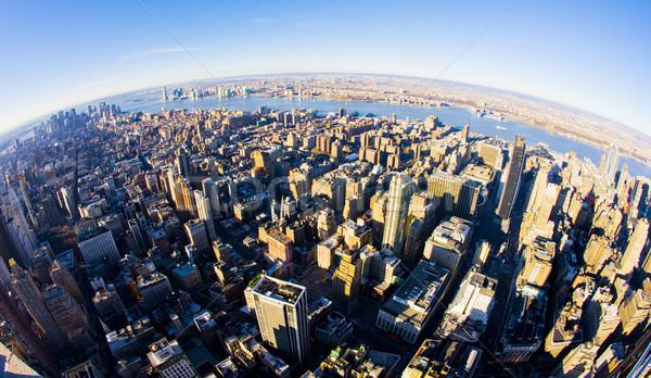 Görmek Manhattan Empire State Binası New York ABD şehir Stok fotoğraf © phbcz