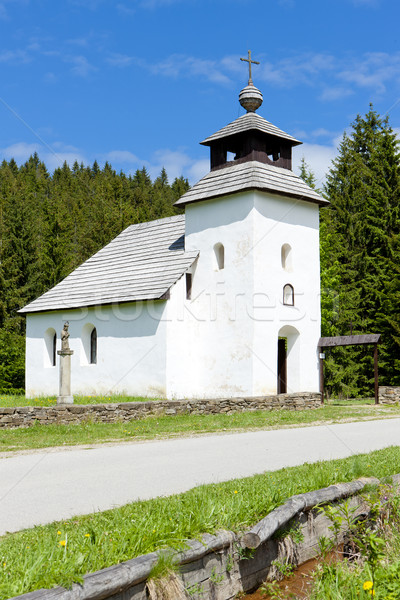 church in Museum of Kysuce village, Vychylovka, Slovakia Stock photo © phbcz