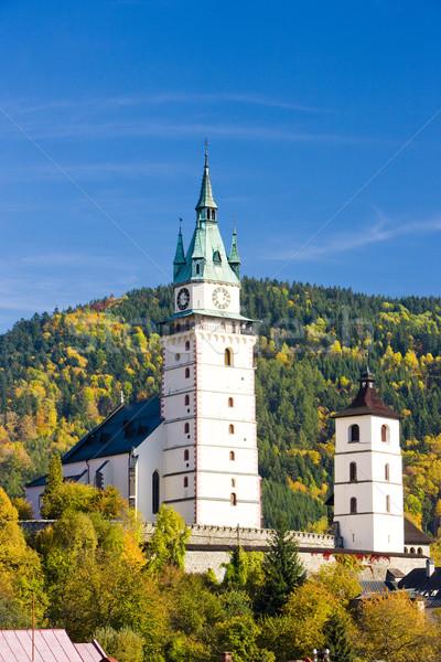 church of St. Catherine, Kremnice, Slovakia Stock photo © phbcz