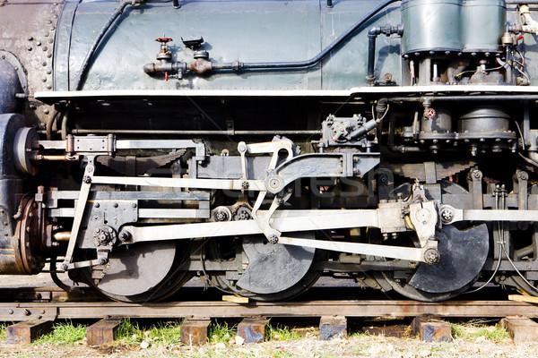 Dettaglio Colorado ferrovia museo USA Foto d'archivio © phbcz