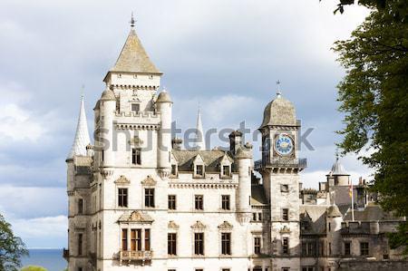 Palais Pologne bâtiment architecture histoire extérieur Photo stock © phbcz