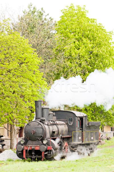 Sérvia europa vapor ao ar livre transporte Foto stock © phbcz