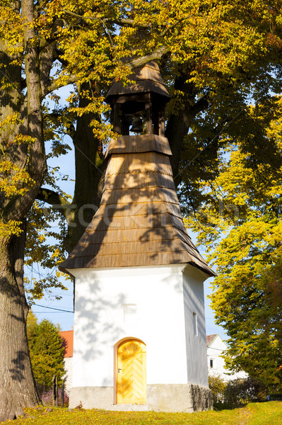 bell tower, Czech Republic Stock photo © phbcz