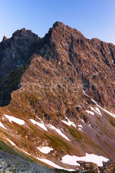 Vysne koprovske sedlo, Vysoke Tatry (High Tatras), Slovakia Stock photo © phbcz