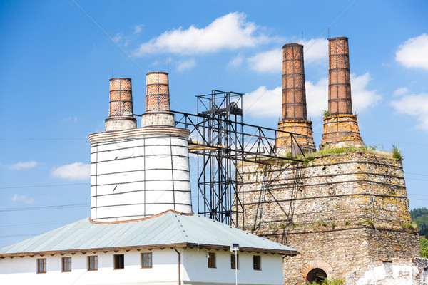 old lime works in Tremosnice, Czech Republic Stock photo © phbcz