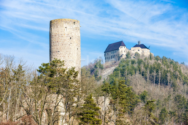 castles Zebrak and Tocnik, Czech Republic Stock photo © phbcz
