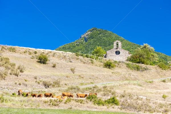 Capela França igreja viajar arquitetura história Foto stock © phbcz