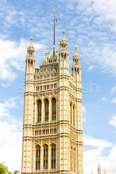 Tour westminster palais Londres grande-bretagne ville Photo stock © phbcz