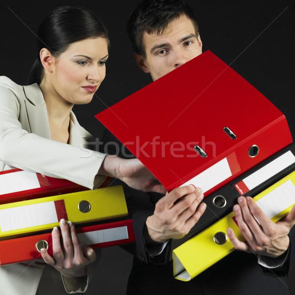 businesspeople Stock photo © phbcz