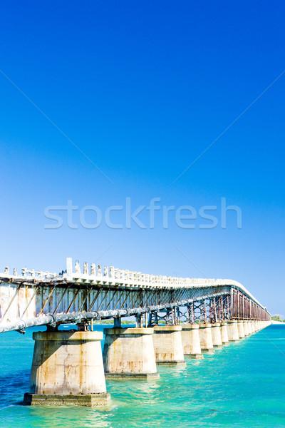 Stockfoto: Oude · weg · brug · Florida · sleutels