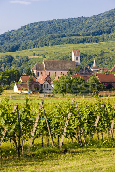 Orschwihr, Alsace, France Stock photo © phbcz