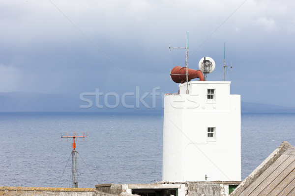 siren of Dunnet Head Lighthouse, Highlands, Scotland Stock photo © phbcz