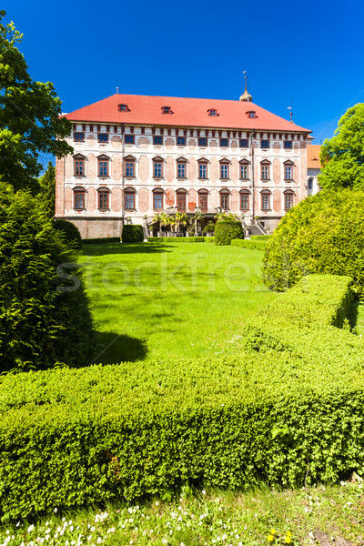 Libochovice Palace, Czech Republic Stock photo © phbcz