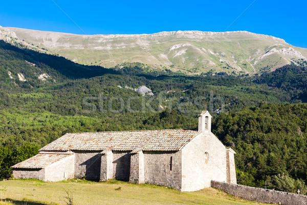 Kaplica Francja architektury Europie religijnych odkryty Zdjęcia stock © phbcz