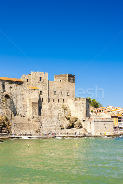 Collioure, Languedoc-Roussillon, France Stock photo © phbcz