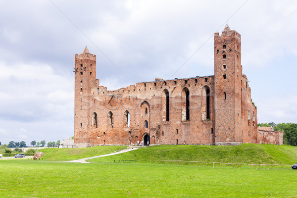руин замок Польша здании путешествия архитектура Сток-фото © phbcz