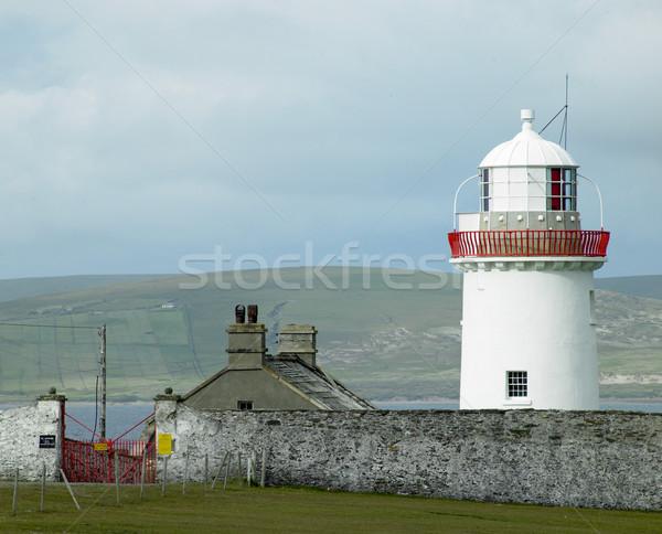 lighthouse, The Mullet Peninsula, County Mayo, Ireland Stock photo © phbcz