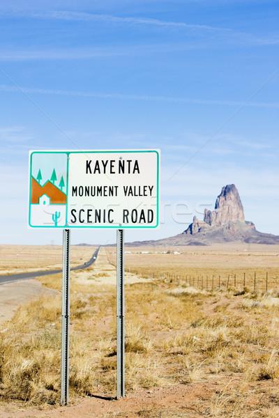 долины Аризона США путешествия признаков ландшафты Сток-фото © phbcz
