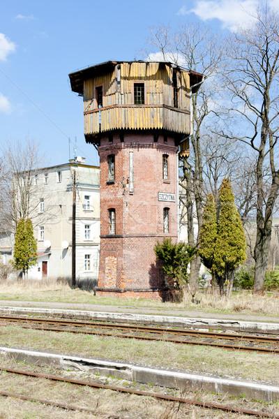 Vecchio stazione ferroviaria Polonia Foto d'archivio © phbcz