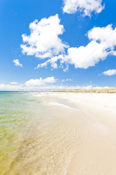 Praia península Polônia mar verão férias Foto stock © phbcz