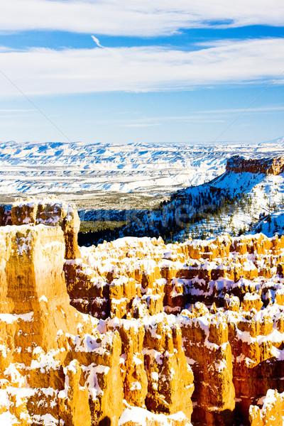 峡谷 公園 冬 ユタ州 米国 風景 ストックフォト © phbcz