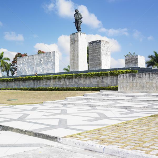 La révolution Cuba statue Photo stock © phbcz