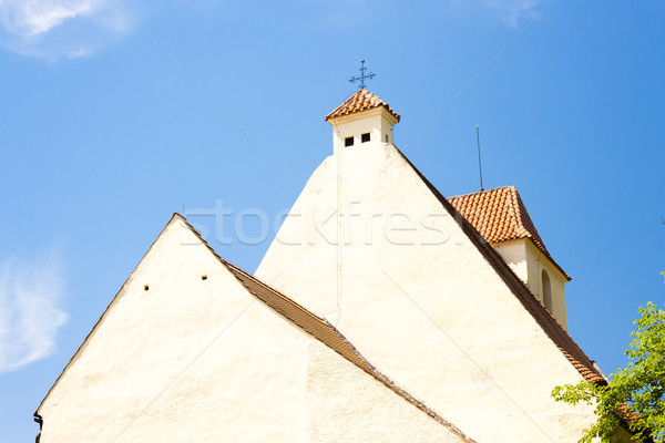 church of the martyrdom of St. John the Baptist, Zumberk, Czech  Stock photo © phbcz