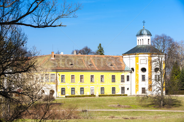 Palace Choltice, Czech Republic Stock photo © phbcz