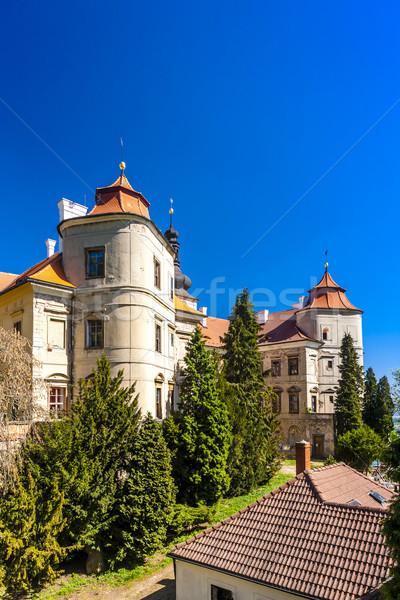 Jezeri Palace, Czech Republic Stock photo © phbcz
