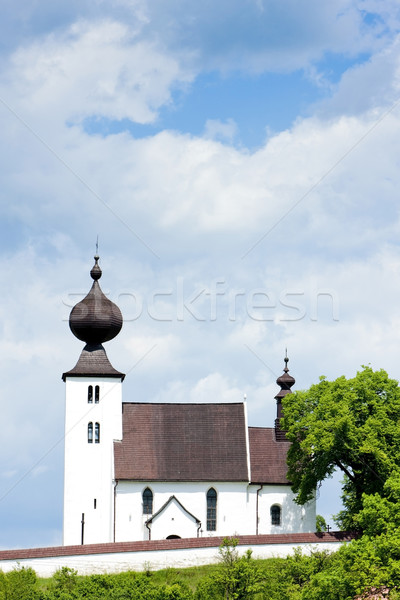 church in Zehra, Slovakia Stock photo © phbcz